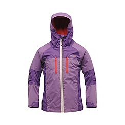 Regatta - Purple kids allpeaks waterproof jacket
