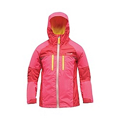 Regatta - Pink kids allpeaks waterproof jacket