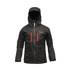 Regatta - Black/black kids allpeaks waterproof jacket