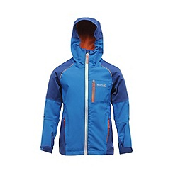 Regatta - Oxford blue kids scafell stretch waterproof jacket