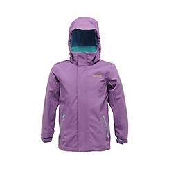Regatta - Purple kids skills stretch jkt