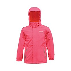 Regatta - Pink kids skills stretch jkt