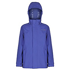 Regatta - Kids Purple greenhill waterproof jacket
