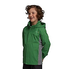 Regatta - Green kids greenhill waterproof jacket