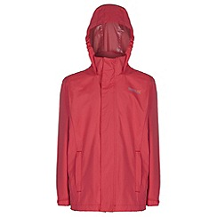 Regatta - Kids Red greenhill waterproof jacket