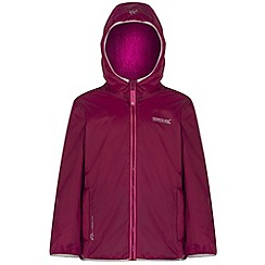 Regatta - Kids Purple Lagoona waterproof jacket
