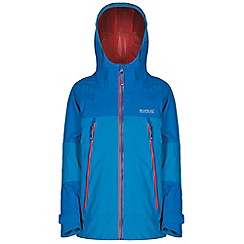Regatta - Boys Blue allcrest waterproof jacket