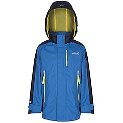 Regatta - Boys Blue fusilier waterproof jacket