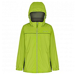 Regatta - Boys' green fieldfare waterproof jacket