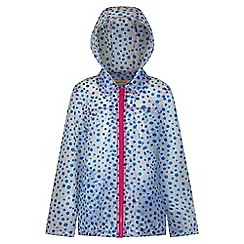 Regatta - Girls' oxford blue Epping rain mac