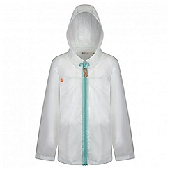 Regatta - Girls' clear Epping rain mac