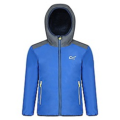 Regatta - Kids Blue 'Volcanics' waterproof jacket