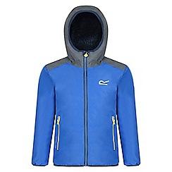 Regatta - Kids Blue 'Volcanics' waterproof jacket
