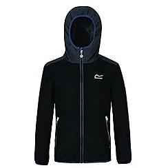 Regatta - Kids Black 'Volcanics' waterproof jacket