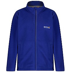 Regatta - Kids Blue Vizor zip through fleece