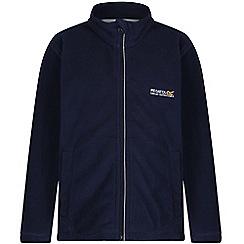 Regatta - Kids Navy Vizor zip through fleece
