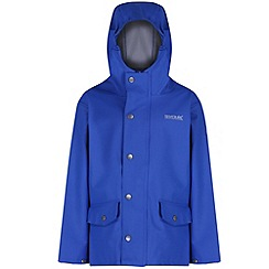 Regatta - Kids Blue Edrik waterproof jacket
