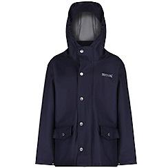 Regatta - Kids Navy Edrik waterproof jacket