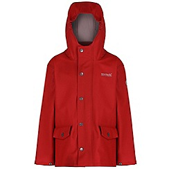 Regatta - Kids Red Edrik waterproof jacket