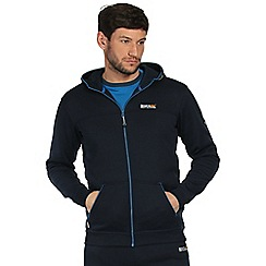 Regatta - Navy estevan quick dry hoodie