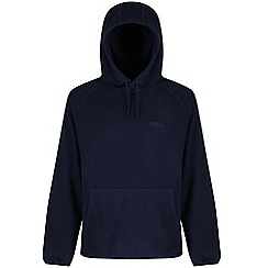 Regatta - Navy Mitton hooded fleece