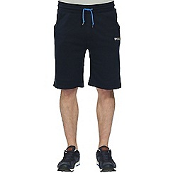 Regatta - Navy evan fleece short