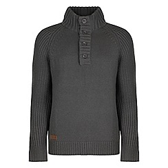 Regatta - Grey Winterknit crew jumper