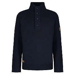 Regatta - Navy Winterknit crew jumper