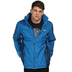 Regatta - Blue jovan waterproof jacket