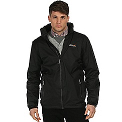 Regatta - Black Jovan waterproof jacket