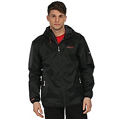 Regatta - Black dangelo waterproof jacket