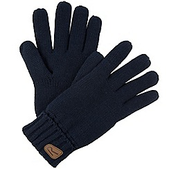 Regatta - Navy Multimix knitted gloves