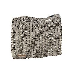 Regatta - Natural Arktic knit snood scarf