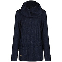 Regatta - Navy Winter knit jumper