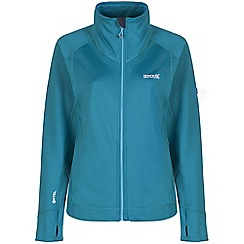 Regatta - Blue morona softshell jacket