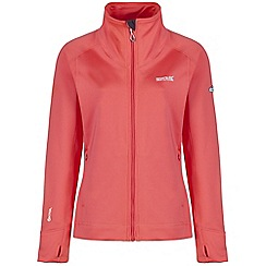Regatta - Peach morona softshell jacket