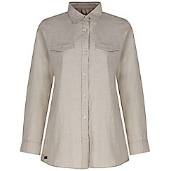 Regatta - Natural Ambray long sleeved shirt