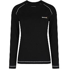 Regatta - Black Jacey long sleeved t-shirt