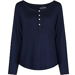 Regatta - Navy Nolany long sleeved top