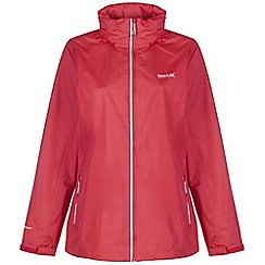 Regatta - Red kelsie waterproof jacket