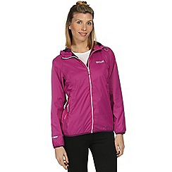 Regatta - Purple Jazmine waterproof jacket