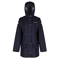 Regatta - Navy Edrik waterproof mac