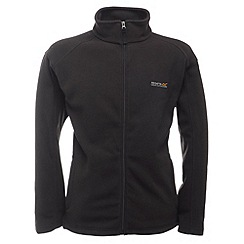 Regatta - Black hedman full zip fleece jacket