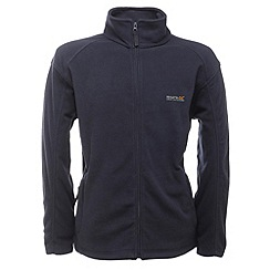 Regatta - Navy hedman full zip fleece jacket