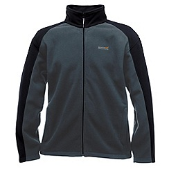 Regatta - Sealgrey/bla hedman full zip fleece jacket