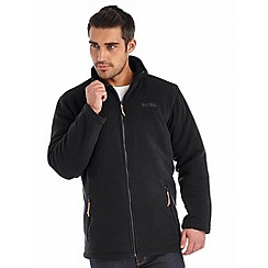 Regatta - Black alfred quilted fleece