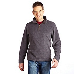 Regatta - Iron grid lineridge fleece
