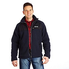 Regatta - Navy/black rockwood fleece