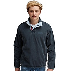 Regatta - Navy hakuna half zip fleece