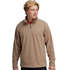 Regatta - Beige sails call half zip fleece